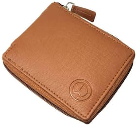 KnW Men Leather Bi-fold & Zip Around Wallet - Assorted