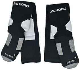 Kobo 3003-BLACK Football Stockings (Black)