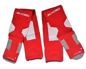 Kobo 3003-RED Football Stockings (Red)