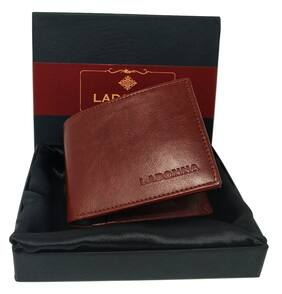 LADONNA Men Brown Pu Bi-Fold Wallet ( Pack of 1 )
