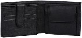 Leather Black Wallets for Men