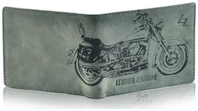 Leather Zentrum Green Wallet