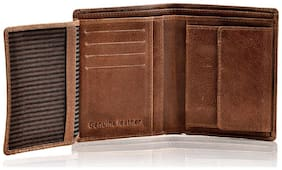 Leather Zentrum Tan Wallet