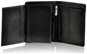Leather Zentrum Black Wallet