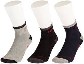 Levi's Multi Wool Ankle length socks ( 3 pairs )
