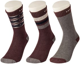 Levi's Multi Wool Crew length socks ( 3 pairs )