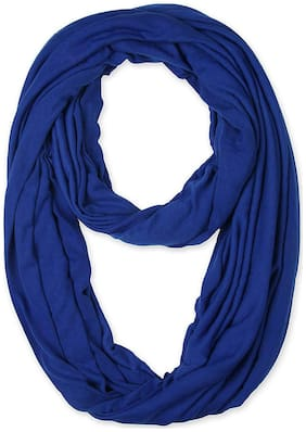 LILI Women Cotton Scarves - Blue