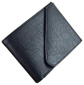 Lime Wear Men Black Pu Long Wallet ( Pack of 1 )