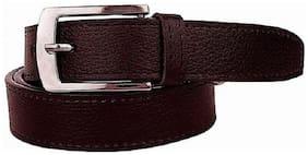 Lime Wear  Brown Men's PU Leather Belt