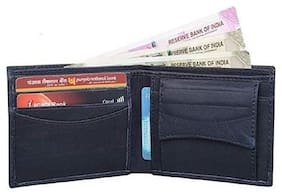 Lime Wear Men Black Pu & Leather Long Wallet ( Pack of 1 )