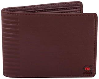 Lime Wear Men Brown Pu Long Wallet ( Pack of 1 )