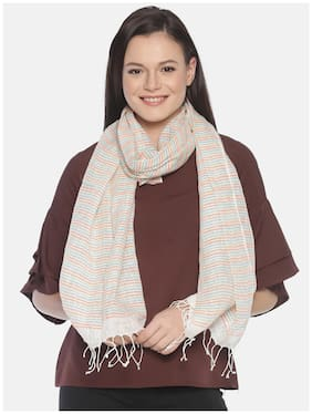 Linen Club Women Linen Stoles - Multi