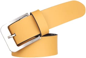 London Fashion YELLOW Color FORMAL Belt For MAN