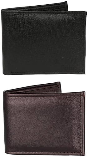 London Fashion combo of brown and black wallet