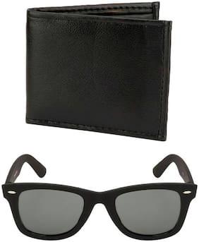 London Fashion Combo Black Sunglass & wallet