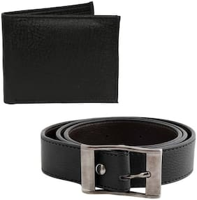 London Fashion Belt and Wallet Gift Set