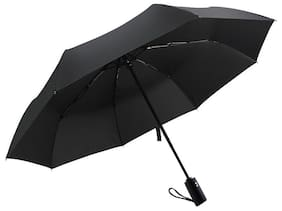 London Fog Premium Quality 2 Fold Umbrella Black