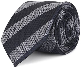 Louis Philippe Silk Casual Regular Long Tie For Men