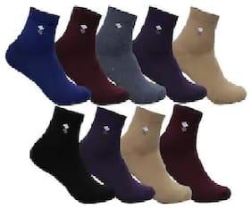 Lux (Pack Of 9) Men's Assorted Socks
