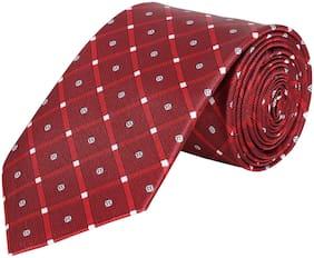 Maharaja Men Classic Printed Silk Necktie | Gift for Him | Work Ties for Men [TE005]