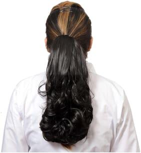 Mansiyaorange Hair Accessories Micro Fiber Black Women