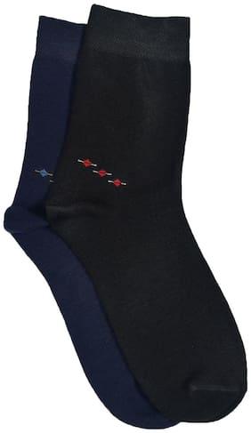 MARC 2 Pair cotton crew length men's socks
