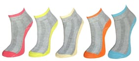 Marc Multicolor Pack Of 5 Socks (Set Of 5)