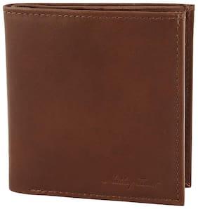 Mathey-Tissot Genuine Leather Tan Men's Wallet (MTW-06-TAN)