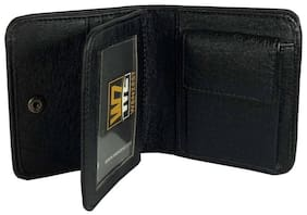 Men Black PU Leather Wallet
