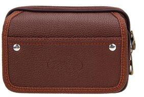 Fashion Men PU Leather Wallet Credit Card Holder Mini Purse(Coffee)