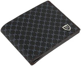 Men's PU Wallet-Black