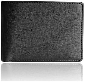 PU Bi-Fold Wallet ( Black )