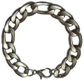 Men Style Men Stainless Steel Bracelets - Silver