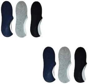 Ankle Length Socks;No Show Socks 6 Pairs
