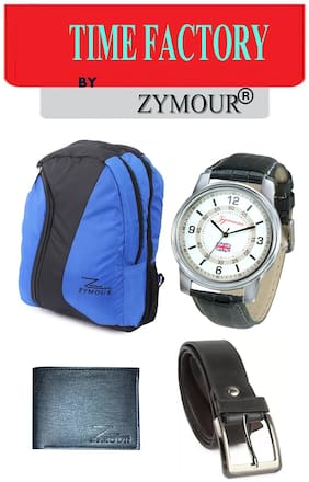 Mens gift accessories watch, backpack, wallet, socks set of 4