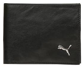 Puma Black Leather Wallet