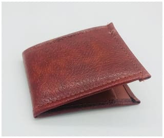 Mens Wallet Shiny Tan