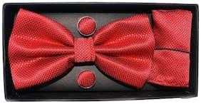 MENSOME Micro fiber Pocket Square - Red