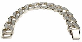 Miami Cuban Link Stardust Bracelet in Gold or Silver