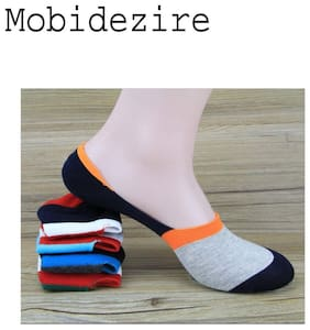Mobidezire pujabi juti  Socks (Assorted colour pack of 4)