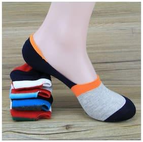 mobidezire QUALITY PREMIUM  cotton NO SHOW  SOCKS FOR UNISEX (pack of 2)