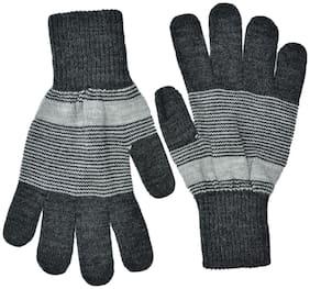Model Men Wool Glove - Grey