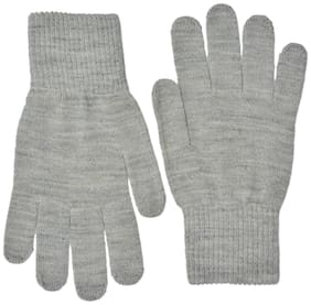Model Men Wool Glove - Grey