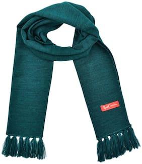 Model Unisex Wool Muffler - Green