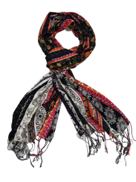 Monika Collection Women Viscose Scarves - Multi