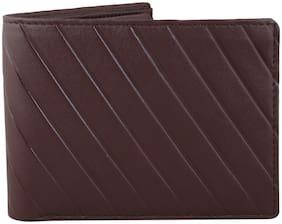 Moody Max-Men's Brown Genuine wallet (Leaser Cut)
