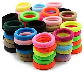MR.TAYLORZ Elastic Cotton Hair Ties Rubber Bands (Pack of 288)