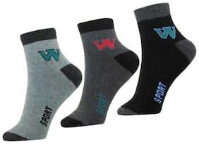 MR.TAYLORZ Multi Cotton Calf length socks ( Pack of 3 )
