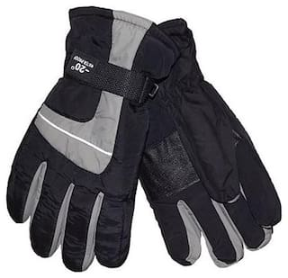 MS TRADING COMPANY Men Faux fur Glove - Assorted