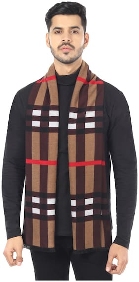 MUFFLY Men Wool Muffler - Multi